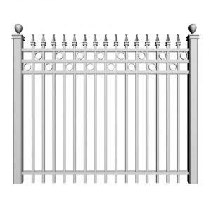 Aluminum_Fencing_Double-Bar-with-Circle