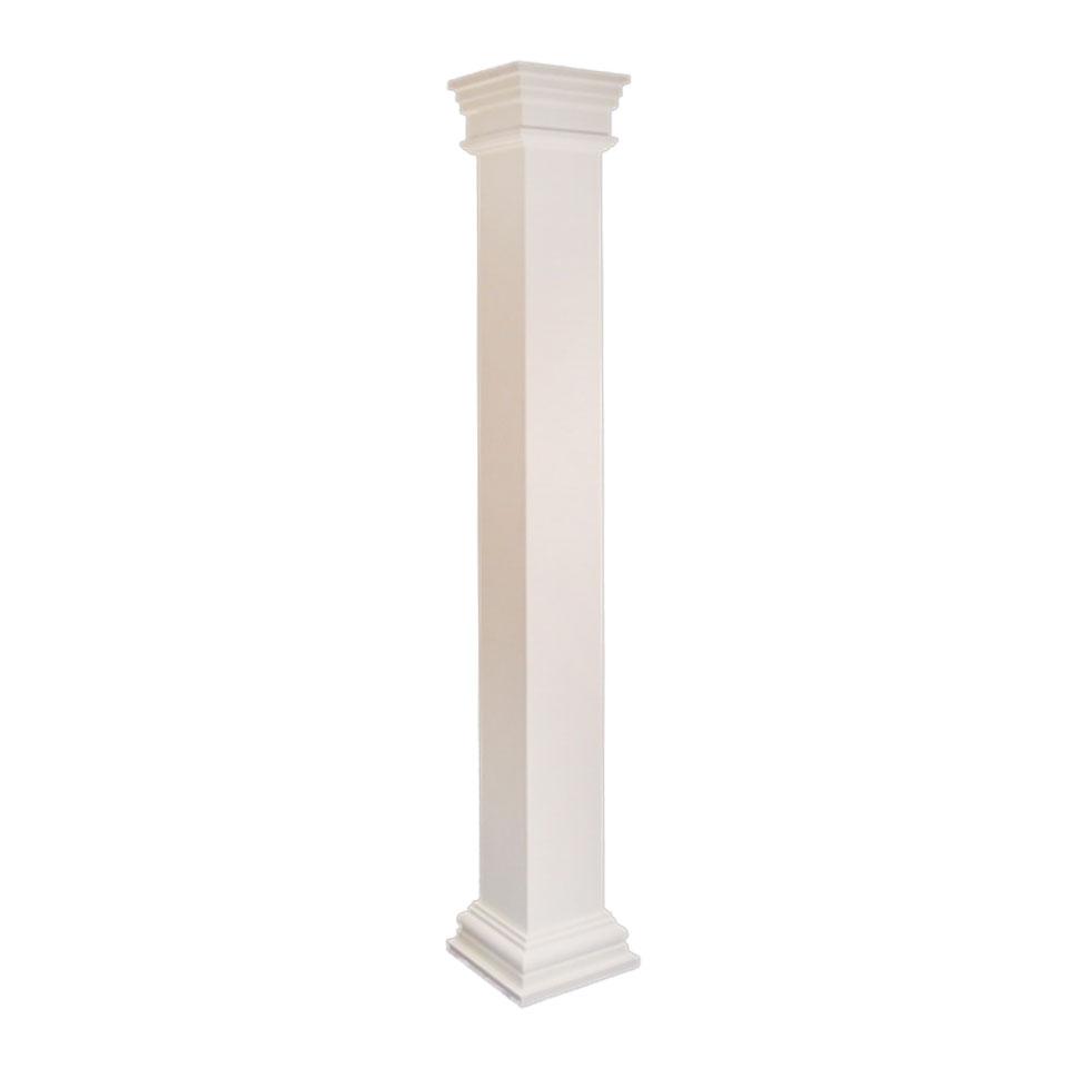 fiberglass column square dalmar