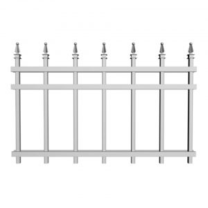 Railings-Crossbar-Spear-Deco